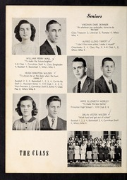 Corinth Holders High School - Corinthian Yearbook (Zebulon, NC) online yearbook collection, 1951 Edition, Page 16