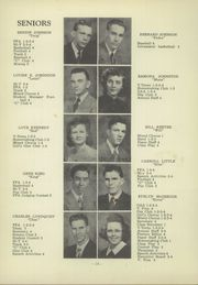 Corning High School - Red Raider Yearbook (Corning, IA) online yearbook collection, 1949 Edition, Page 18