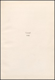 Corona High School - Coronal Yearbook (Corona, CA) online yearbook collection, 1940 Edition, Page 3