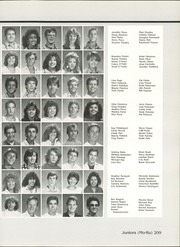 Coronado High School - Trail Yearbook (Scottsdale, AZ) online yearbook collection, 1987 Edition, Page 213