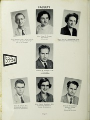 Craigsville High School - Blue Tornado Yearbook (Craigsville, VA) online yearbook collection, 1954 Edition, Page 12 of 88