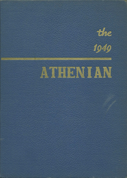 Crawfordsville High School - Athenian Yearbook (Crawfordsville, IN) online yearbook collection, 1949 Edition, Cover