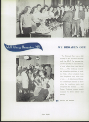 Page 12, 1949 Edition, Crawfordsville High School - Athenian Yearbook (Crawfordsville, IN) online yearbook collection