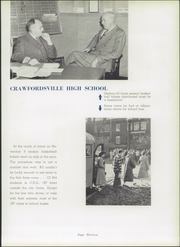 Page 17, 1949 Edition, Crawfordsville High School - Athenian Yearbook (Crawfordsville, IN) online yearbook collection
