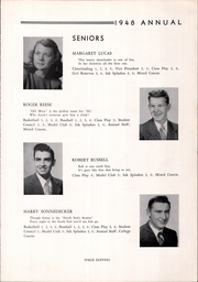Creston High School - Annual Yearbook (Creston, OH) online yearbook collection, 1948 Edition, Page 15