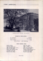 Creston High School - Annual Yearbook (Creston, OH) online yearbook collection, 1949 Edition, Page 6 of 64