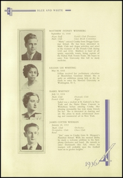 Crosby High School - Blue and White Yearbook (Waterbury, CT) online yearbook collection, 1936 Edition, Page 121