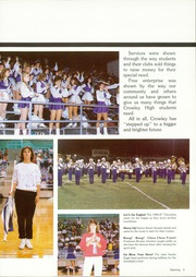 Crowley High School - Talon Yearbook (Crowley, TX) online yearbook collection, 1987 Edition, Page 9