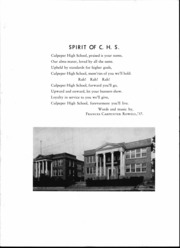 Culpeper County High School - Colonnade Yearbook (Culpeper, VA) online yearbook collection, 1939 Edition, Page 7