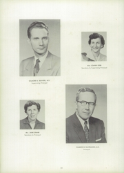 Cumberland Valley High School - Argus Yearbook (Mechanicsburg, PA) online yearbook collection, 1957 Edition, Page 14 of 144