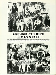 Curry College - Curryer Yearbook (Milton, MA) online yearbook collection, 1984 Edition, Page 82