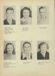 Curry High School - Yellow Jacket Yearbook (Jasper, AL) online yearbook collection, 1950 Edition, Page 16