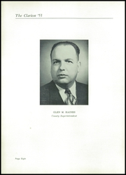 Danville High School - Clarion Yearbook (Danville, OH) online yearbook collection, 1953 Edition, Page 12 of 148