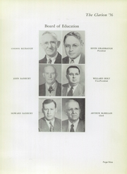 Page 13, 1956 Edition, Danville High School - Clarion Yearbook (Danville, OH) online yearbook collection