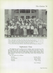 Danville High School - Clarion Yearbook (Danville, OH) online yearbook collection, 1956 Edition, Page 37