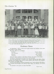 Danville High School - Clarion Yearbook (Danville, OH) online yearbook collection, 1956 Edition, Page 38 of 136