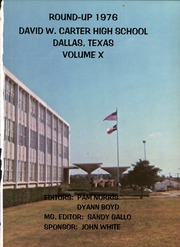 David W Carter High School - Round Up Yearbook (Dallas, TX) online yearbook collection, 1976 Edition, Page 5