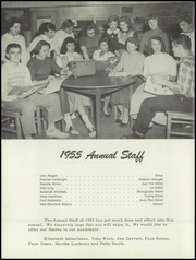 Deep Creek High School - Hornet Yearbook (Chesapeake, VA) online yearbook collection, 1955 Edition, Page 6 of 96