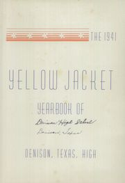 Denison High School - Yellow Jacket Yearbook (Denison, TX) online yearbook collection, 1941 Edition, Page 2