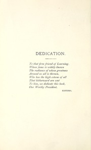 Denison University - Adytum Yearbook (Granville, OH) online yearbook collection, 1891 Edition, Page 16