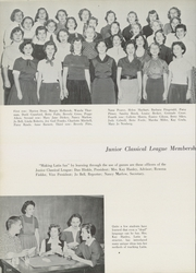 Denton High School - Bronco Yearbook (Denton, TX) online yearbook collection, 1955 Edition, Page 108