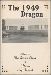 Dewar High School - Dragon Yearbook (Dewar, OK) online yearbook collection, 1949 Edition, Page 5 of 64
