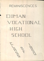 Diman Vocational High School - Artisan Yearbook (Fall River, MA) online yearbook collection, 1950 Edition, Page 8