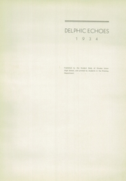 Dinuba High School - Delphic Echoes Yearbook (Dinuba, CA) online yearbook collection, 1934 Edition, Page 9
