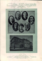 Dothan High School - Gargoyle Yearbook (Dothan, AL) online yearbook collection, 1925 Edition, Page 11 of 124