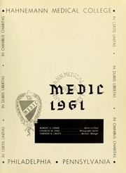 Drexel University College of Medicine - Hahnemann Medic Yearbook (Philadelphia, PA) online yearbook collection, 1961 Edition, Page 3 of 170