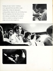 Earlham College - Sargasso Yearbook (Richmond, IN) online yearbook collection, 1964 Edition, Page 9