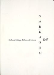 Earlham College - Sargasso Yearbook (Richmond, IN) online yearbook collection, 1967 Edition, Page 5