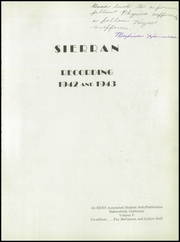 East Bakersfield High School - Sierran Yearbook (Bakersfield, CA) online yearbook collection, 1943 Edition, Page 7