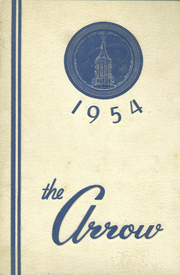 East High School - Arrow Yearbook (Auburn, NY) online yearbook collection, 1954 Edition, Cover