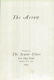 East High School - Arrow Yearbook (Auburn, NY) online yearbook collection, 1954 Edition, Page 7 of 100
