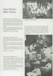 East High School - Trojan Yearbook (Waterloo, IA) online yearbook collection, 1957 Edition, Page 17 of 104