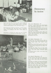 East High School - Trojan Yearbook (Waterloo, IA) online yearbook collection, 1957 Edition, Page 18
