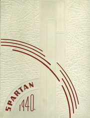 East Sparta High School - Spartan Yearbook (East Sparta, OH) online yearbook collection, 1940 Edition, Cover