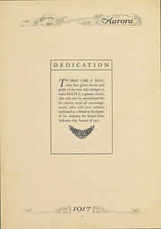 Eastern Michigan University - Aurora Yearbook (Ypsilanti, MI) online yearbook collection, 1917 Edition, Page 5
