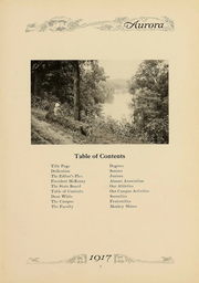 Eastern Michigan University - Aurora Yearbook (Ypsilanti, MI) online yearbook collection, 1917 Edition, Page 9