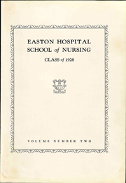 Easton Hospital School of Nursing - Ligature Yearbook (Easton, PA) online yearbook collection, 1928 Edition, Page 9 of 112