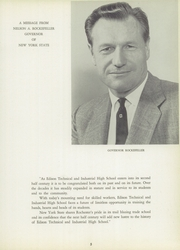 Edison Technical High School - Edisonian Yearbook (Rochester, NY) online yearbook collection, 1959 Edition, Page 9