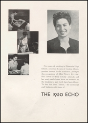 Edmonds High School - Echo Yearbook (Edmonds, WA) online yearbook collection, 1950 Edition, Page 5