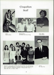 Elma High School - Cloquallum Yearbook (Elma, WA) online yearbook collection, 1969 Edition, Page 43