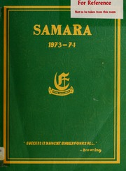 Elmwood School - Samara Yearbook (Ottawa, Ontario Canada) online yearbook collection, 1974 Edition, Page 1