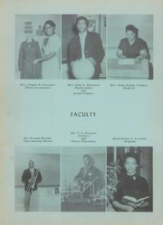 Emmett Scott High School - Rattler Yearbook (Rock Hill, SC) online yearbook collection, 1957 Edition, Page 12