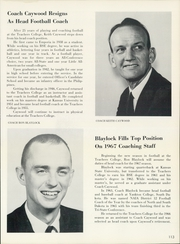 Emporia State University - Sunflower Yearbook (Emporia, KS) online yearbook collection, 1967 Edition, Page 117 of 392