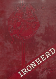 Eufaula High School - Ironhead Yearbook (Eufaula, OK) online yearbook collection, 1954 Edition, Cover