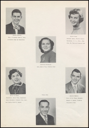 Page 14, 1954 Edition, Eufaula High School - Ironhead Yearbook (Eufaula, OK) online yearbook collection