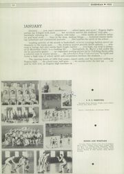 Page 16, 1935 Edition, Eugene High School - Eugenean Yearbook (Eugene, OR) online yearbook collection